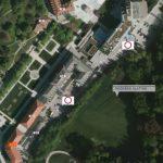 Podaljšanje zapore ceste na Zdraviliškem trgu v Rogaški Slatini