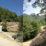 Dokončana gozdna cesta Cerije v Rogatcu