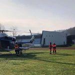 Helikoptersko posredovanje v Rogaški Slatini (video)