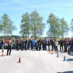 Šmarski reševalci na uspešni motoristični preventivni akciji