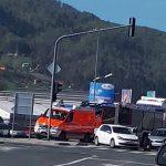 V Šentjurju trčila tri vozila – pet ranjenih