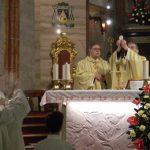 Velikonočna nedelja s procesijo in sveto mašo v celjski stolni cerkvi sv. Danijela 2018 (foto, video)