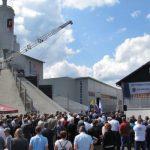 GIC gradnje v Pristavi z novo betonarno