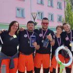 Šmarska ekipa nujne medicinske pomoči druga na mednarodnem Rally Ravitz prvenstvu (foto)