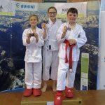 Karateisti tekmovali kar na treh lokacijah