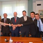 Podpisali dogovor o podpori projektu Vonarsko jezero (video)