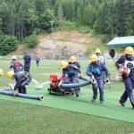 Članske gasilske desetine na tekmovanju v Rogatcu (foto, video)