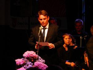 Mag. Marko Diaci je nastopil kot častni govorec.