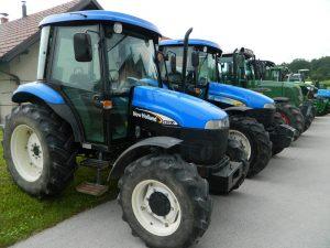 Šentvidovo je tradicionalno poskrbelo tudi za blagoslov traktorjev.