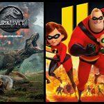 Vabimo v kino Šmarje: Neverjetni 2 in Jurski svet: Padlo kraljestvo