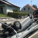 Več nesreč v Rogaški Slatini in okolici (foto, video)