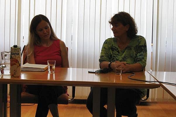 Nuša Leskovar in Melita Tasić Ilić
