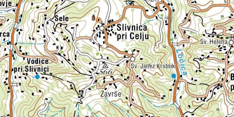 slivnica_pri_celju_zemljevid