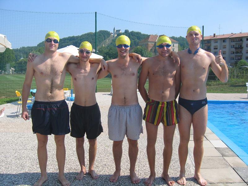 Za nostalgike: iz začetnih let festivala Š.O.K., ko se je na prostoru (nekdanjega) šmarskega bazena odvijal Š. del od festivala - športne igre.