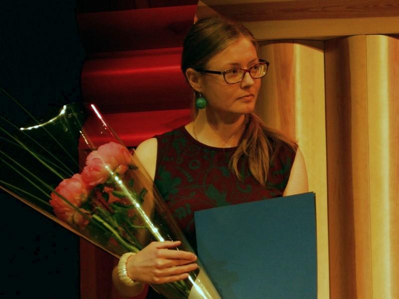 Nagrajenka Diana Pungeršič.