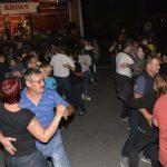 Gasilska veselica v Šmarju z Okroglimi muzikanti (foto)