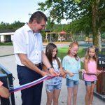 V Rogaški Slatini odprli novo centralno otroško igrišče (foto, video)