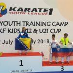 Karateisti prvič na kampu svetovnega pokala v Umagu