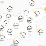 Tudi na območju KiO konec tedna v znamenju neurij in neviht