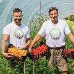 Predsednik Pahor na kmetiji Vizjak obiral čili