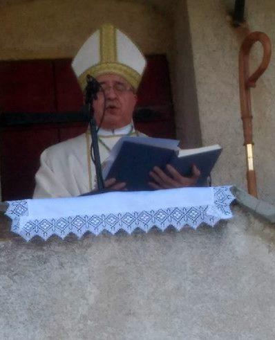 Ljubljanski pomožni škof dr. Franc Šuštar