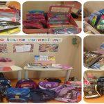 V dobrodelni akciji Knjižnice Rogaška Slatina zbrali veliko šolskih potrebščin. Čas za darovanje še naslednji teden