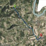 Od jutri do konca meseca popolna zapora dela ceste Golobinjek-Bistrica ob Sotli