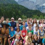 Učenci OŠ Šmarje na športno-jezikovnem taboru v Kranjski Gori (foto)