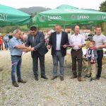 V Podčetrtku namenu predali obnovljene cestne odseke in čistilno napravo (foto, video)