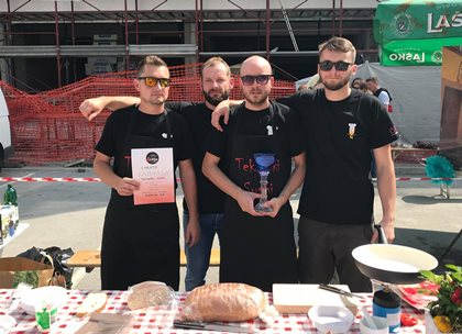 Zmagovita ekipa v kuhanju - Čili festival (vir foto: Facebook)