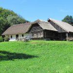 Juneževa domačija dobila novo slamnato streho (foto)