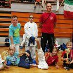 Tri zlate medalje za Karate klub Kozijansko in Obsotleje na Kranj open 2018