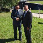 Minister Gašperšič na predzadnji dan mandata obiskal Podčetrtek