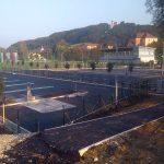 Parkirišče za avtodome in za kopališče končano, kolopark v gradnji, na bazen bomo še počakali