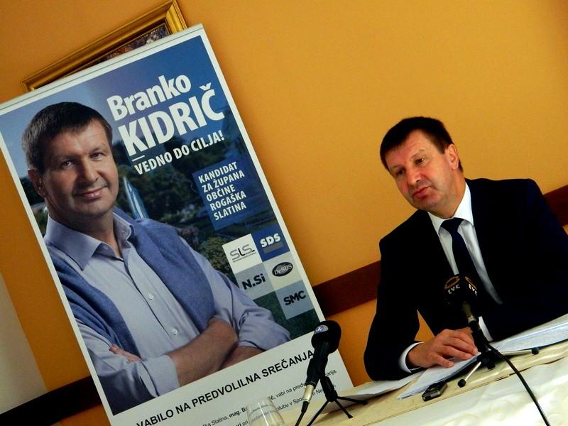 Mag. Branko Kidrič je podrobneje predstavil program, s katerim se odpravlja na lokalne volitve.