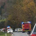 Smrt motorista pri Šentjurju
