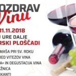 Vabimo na Pozdrav vinu v Šmarje pri Jelšah – brezplačne kupice za degustacijo in kislo juho