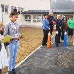 Obnovljena zunanjost in okolica šole v Gorici pri Slivnici, kjer so obeležili tudi krajevni praznik (foto)