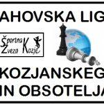 Začetek druge sezone Šahovske lige Kozjanskega in Obsotelja