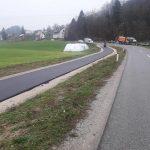 V Podčetrtku se asfaltira tudi po volitvah. Dokončana kolesarska steza v Cmereški gorci (foto)
