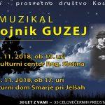 Vabimo na muzikal Razbojnik Guzej v Rogaško Slatino in Šmarje pri Jelšah – vstopnice 44 % ceneje