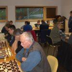 Za šahisti drugi turnir območne lige