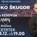 Vabimo na koncert Marka Škugorja z gostjo Terezo Kesovijo in Klapo Cambi v Podčetrtku
