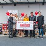 Vložnine Droga predale donacijo v višini 5.000 evrov za ljudi v stiski Humanitarnemu društvu Enostavno pomagam