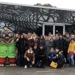 Dijaki ŠCRS na geografski ekskurziji v Prekmurju