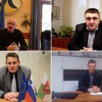 Božično-novoletna voščila županov občin Bistrica ob Sotli, Podčetrtek, Šentjur in Šmarje pri Jelšah ob koncu leta 2018