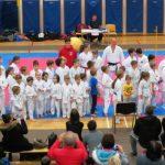 Prednovoletni karate v Kozjem z rekordnim številom udeležencev