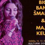 Vabimo na večer dobre glasbe s šmarskim Big Bandom in  Majo Keuc – cenejše vstopnice