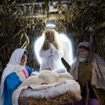 Žive jaslice v Kristalni vasi v Rogaški Slatini (foto, video)
