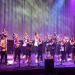 Perpetuum Jazzile v razprodani dvorani v Podčetrtku spektakularno zaključili leto 2018 (foto, video)